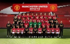 Man Utd Squad 2012