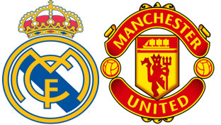 Round 16 Man United-Real Madrid UEFA Champions League