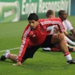 Suarez in Training